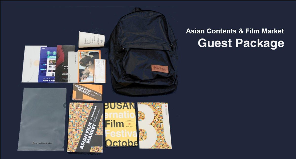 Asian Film Martket Guest Package